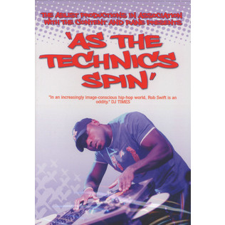 ROB SWIFT - As the Technics spin - DVD