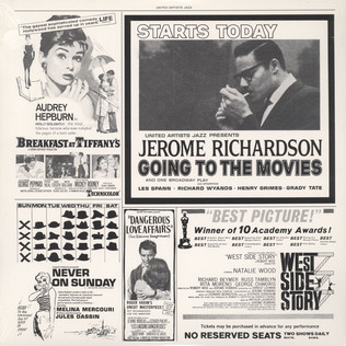 JEROME RICHARDSON - Going To The Movies - LP
