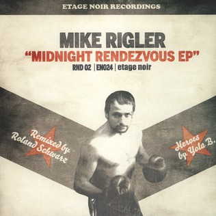 MIKE RIGLER - Midnight Rendezvous feat. Isabella Kaiser - 12 inch x 1