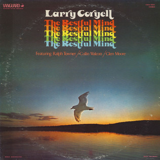 LARRY CORYELL - The Restful Mind - LP