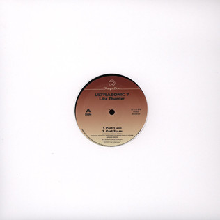 ULTRASONIC 7 - Like Thunder - 12 inch x 1