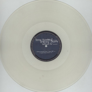 TEVO HOWARD - Without Me Remixes Feat. Tracey Thorn - 12 inch x 1