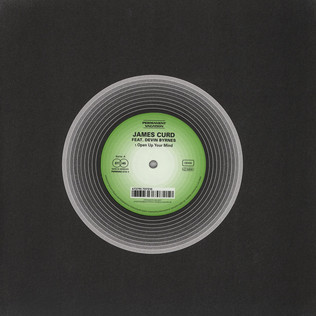 JAMES CURD - Open Up Your Mind feat. Devin Byrnes - 12 inch x 1