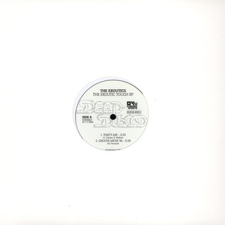 EXOUTICS, THE - The Exoutics Touch EP - 12 inch x 1