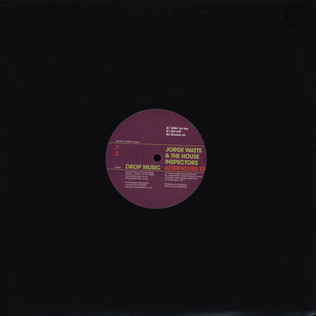 JORGE WATTS & THE HOUSE INSPECTORS - Afterhours EP - 12 inch x 1