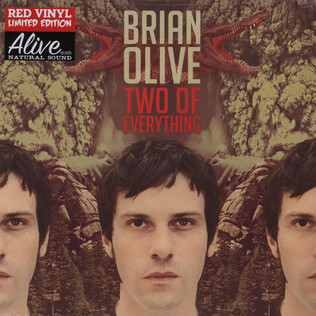 BRIAN OLIVE - Two Of Everything - LP