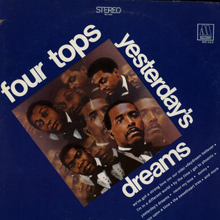 FOUR TOPS - Yesterday's Dreams - LP