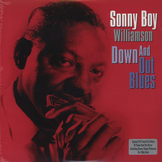 SONNY BOY WILLIAMSON - Down And Out Blues - LP x 2