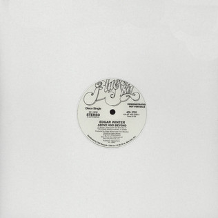 EDGAR WINTER - Above & Beyond - 12 inch x 1