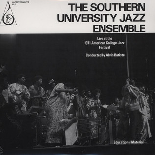 SOUTHERN UNIVERSITY JAZZ ENSEMBLE, THE - Live At The 1971 College Jazz Festival - LP
