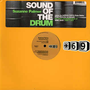 SUZANNE PALMER - Sound Of The Drum (Part 1) - 12 inch x 1