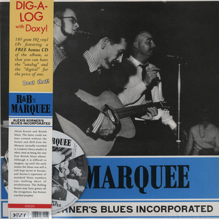 ALEXIS KORNER - R&B From The Marquee - LP