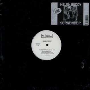 HELEN REDDY - Surrender (The Remix) - 12 inch x 1