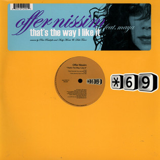 OFFER NISSIM FEAT. MAYA - That's The Way I Like It - 12 inch x 1