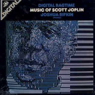 JOSHUA RIFKIN - Digital Ragtime - Music Of Scott Joplin - LP