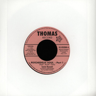 SAXIE RUSSELL - Psychedelic Soul Pt.1 - 7inch x 1