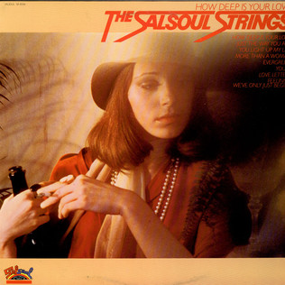 SALSOUL STRINGS, THE - How deep is your love - LP