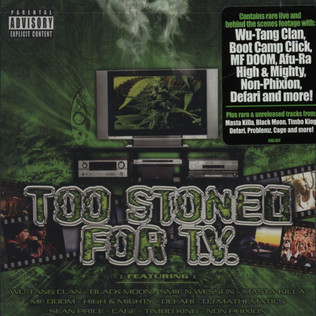 V.A. - Too stoned for TV - DVD + CD