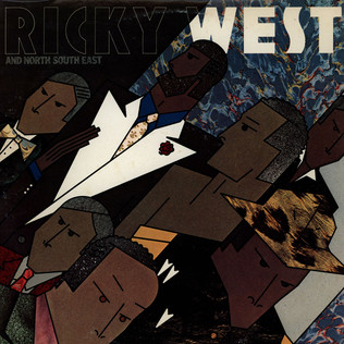 RICKY WEST - And North South East - LP