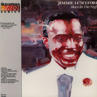 JIMMIE LUNCEFORD - Blues In The Night - LP