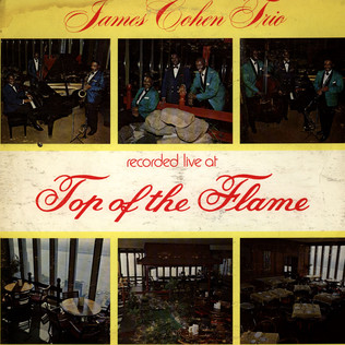 JAMES COHEN TRIO, THE - Recorded Live At Top Of The Flame - LP