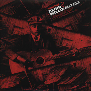 BLIND WILLIE MCTELL - Complete Recorded Works in Chronological Order Volume 2 - LP