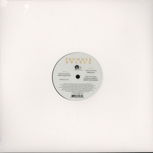 PROMMER & BARCK - The Machine EP - 12 inch x 1