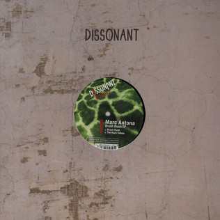 MARC ANTONA - Brush Rush EP - 12 inch x 1