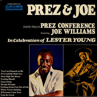 DAVE PELLS - In Celebration Of Lester Young feat. Joe Williams - LP