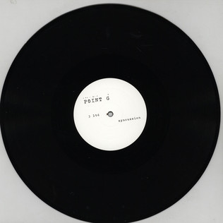 POINT G (DJ GREGORY) - #3Ltd Syncussion (Limited Edition One Side) - 12 inch x 1