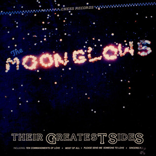 MOONGLOWS, THE - Their Greatest Sides - LP