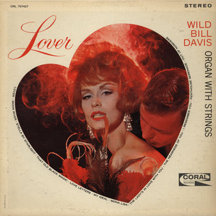 WILD BILL DAVIS - Lover - LP