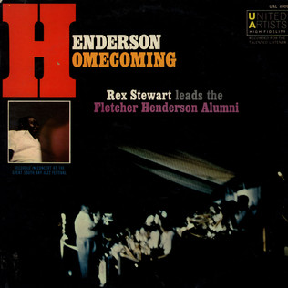 REX STEWART - Henderson Homecoming - LP