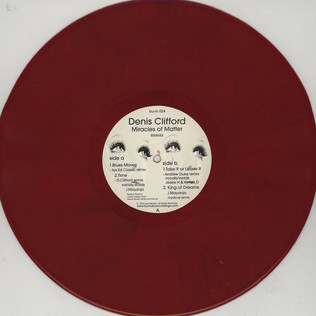 DENIS CLIFFORD - Miracles Of Matter Remixes - 12 inch x 1
