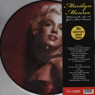 MARILYN MONROE - Diamons Are A Girl's Best Friend 50th Anniversary Edition - LP