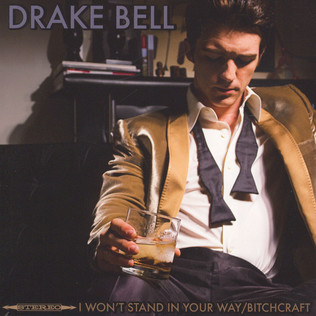 DRAKE BELL - I Won't Stand In Your Way - 7inch x 1