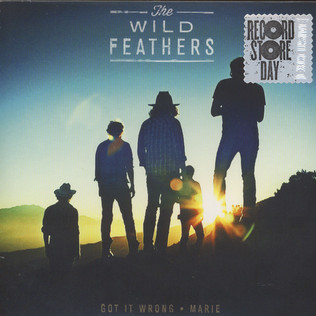 WILD FEATHERS, THE - Got It Wrong Clearmountain Mix / Marie - 7inch x 1