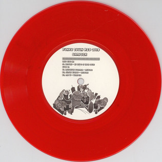 V.A. - Funky Town Record Store Day 2014 Sampler - 7inch x 1