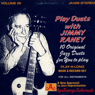 JIMMY RANEY - Play Duets with Jimmy Raney - LP