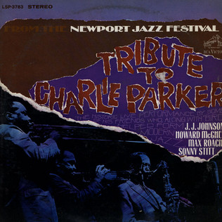 NEWPORT PARKER TRIBUTE ALL STARS - Tribute To Charlie Parker From The Newport Jazz Festival - LP