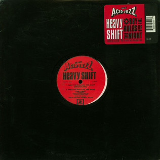 HEAVYSHIFT - Obey The Rules Of The Night - 12 inch x 1