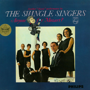 LES SWINGLE SINGERS - Anyone For Mozart? - LP
