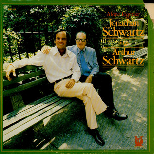 JONATHAN SCHWARTZ SINGS ARTHUR SCHWARTZ - Alone Together - LP