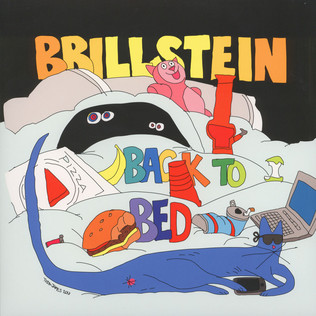 BRILLSTEIN - Back To Bed EP - 12 inch x 1