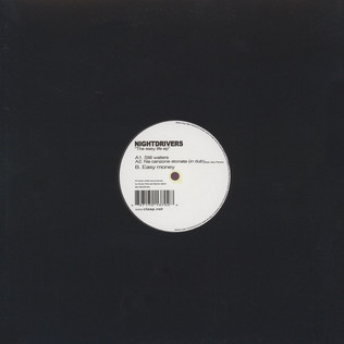 NIGHTDRIVERS - The Easy Life EP - 12 inch x 1