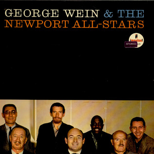GEORGE WEIN & THE NEWPORT ALL-STARS - George Wein & The Newport All-Stars - LP
