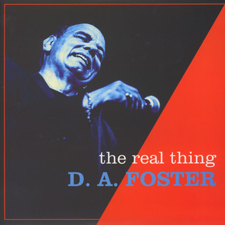 D.A. FOSTER - Real Thing - LP