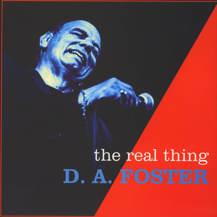 D.A. FOSTER - The Real Thing - LP