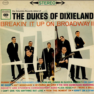 DUKES OF DIXIELAND, THE - Breakin' It Up On Broadway - LP
