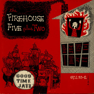FIREHOUSE FIVE PLUS TWO - The Firehouse Five Plus Two - LP